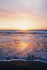 Strand-zon-zee